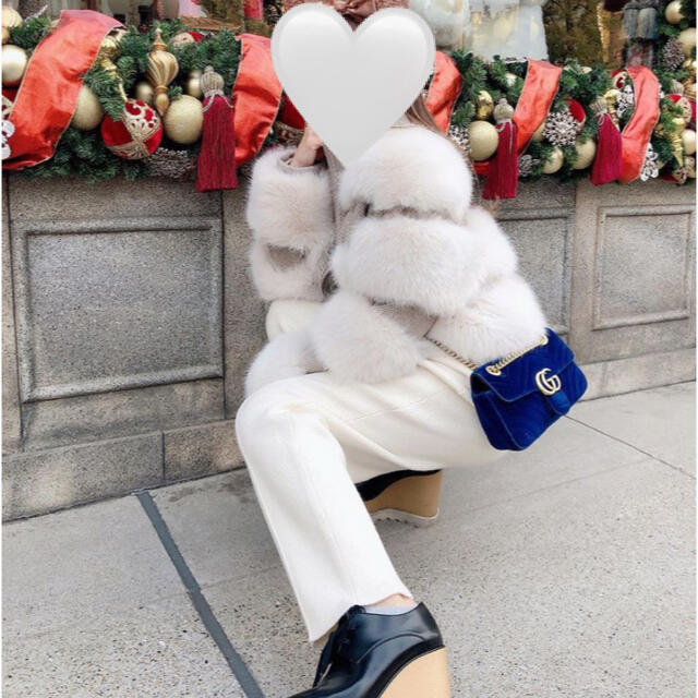 eimy istoire(エイミーイストワール)のファーショートジャケット レディースのジャケット/アウター(毛皮/ファーコート)の商品写真