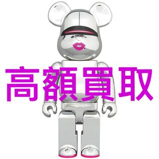 メディコムトイ(MEDICOM TOY)のBE@RBRICK カリモク mastermind JAPAN メープル杢(キャラクターグッズ)