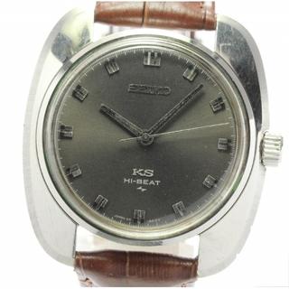 セイコー(SEIKO)のセイコー キングセイコー ハイビート 45-8000 手巻き メンズ 【中古】(腕時計(アナログ))