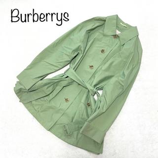 バーバリー(BURBERRY)のオールドバーバリーズ ベルテッドスプリングコート 薄手 ビッグサイズ(スプリングコート)