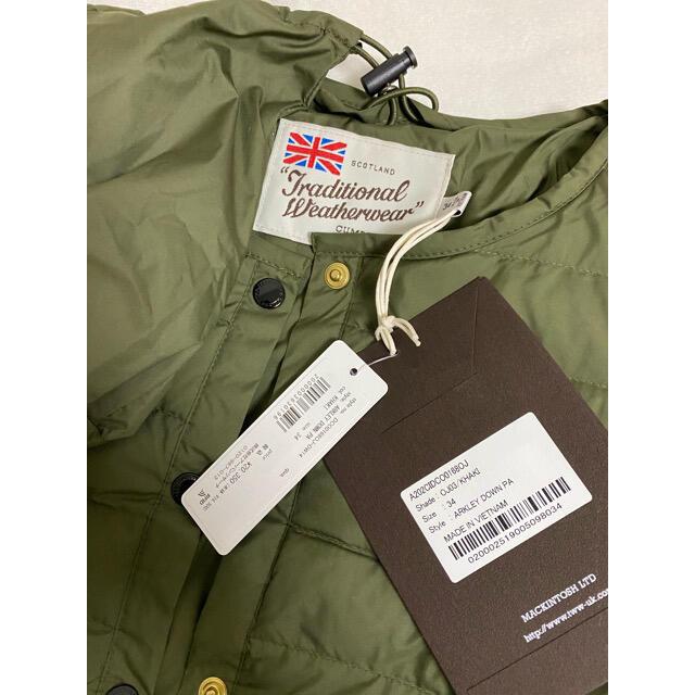 DOORS / URBAN RESEARCH(ドアーズ)のアーバンリサーチドアーズ トラディショナルウェザーウェア ARKLEY DOWN レディースのジャケット/アウター(ダウンジャケット)の商品写真