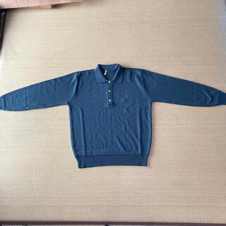 シャネル(CHANEL)のシャネル メンズ長袖セーター 濃灰フリーサイズ(ニット/セーター)