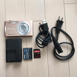CASIO - EXLIM デジカメ SDカード付