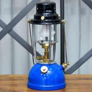 ペトロマックス(Petromax)の新品 Vapalux ランタン M320 ブルー ヴェイパラックス BLUE(ライト/ランタン)