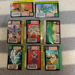 値段交渉受けます。ドラゴンボール カードダス キラカード 敵キャラセット(カード)