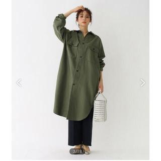 L'Appartement DEUXIEME CLASSE - ☆新品☆Americana アメリカーナ☆ビッグシャツコート