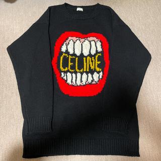 セリーヌ(celine)のCELINE 21ss ダンシングキッドコレクション ルーズクルーネックセーター(ニット/セーター)
