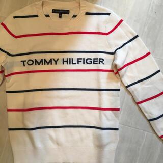TOMMY HILFIGER - ※セール中トミーヒルフィガー  セーター130 キッズ ロゴ
