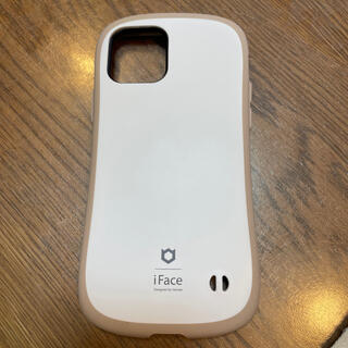 ハイミー(HIMMY)のiface iPhone12 ベージュ マット加工(iPhoneケース)