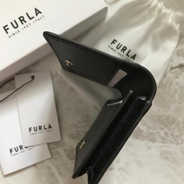 Furla(フルラ)の新品!フルラ FURLA カードケース 名刺入れ ブラック 黒 レディースのファッション小物(名刺入れ/定期入れ)の商品写真