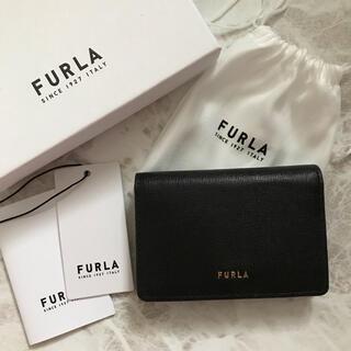 Furla - 新品!フルラ FURLA カードケース 名刺入れ ブラック 黒