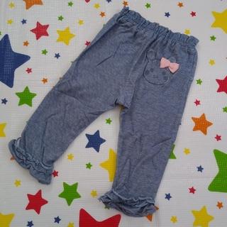 クーラクール(coeur a coeur)のクーラクール うさぎポケットパンツ 80cm ブルー(パンツ)
