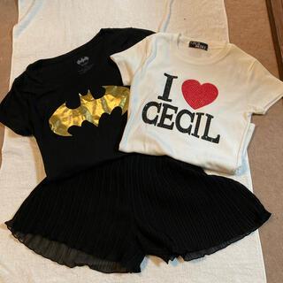 セシルマクビー(CECIL McBEE)のCecil Mcbee Tシャツ と セット(Tシャツ(半袖/袖なし))
