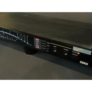 コルグ(KORG)の1Uラックマウント デジタルチュナー(エフェクター)