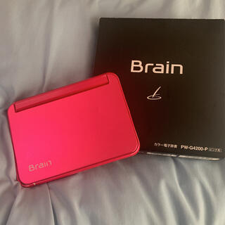 SHARP - SHARP PW-G4200-P brain シャープ 電子辞書