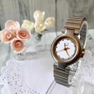 ダンヒル(Dunhill)の【電池交換済み】dunhill ダンヒル 腕時計 ミレニアム 12P レディース(腕時計)