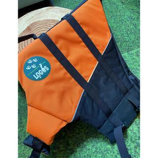 ロゴス(LOGOS)のLOGOS ロゴス 犬用 ライフジャケット オレンジ M(犬)