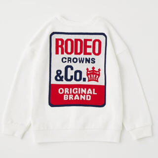 RODEO CROWNS WIDE BOWL - ロデオクラウンズ 新品未使用タグ付き 110 キッズ