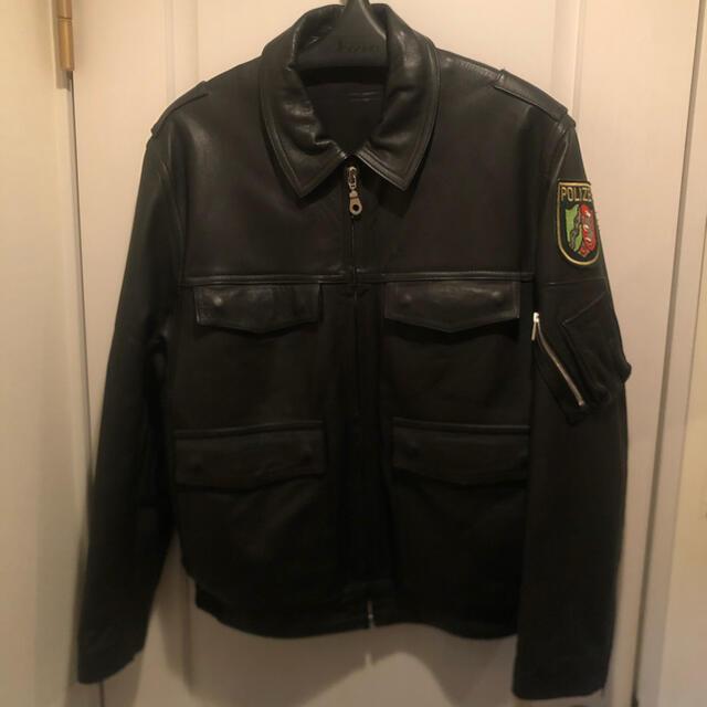 schott(ショット)の【値下げ中】POLIZEI ドイツ警察 レザージャケット メンズのジャケット/アウター(レザージャケット)の商品写真