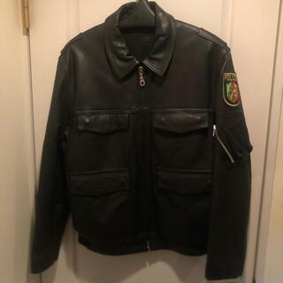 ショット(schott)のPOLIZEI ドイツ警察 レザージャケット(レザージャケット)