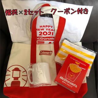 マクドナルド(マクドナルド)のマクドナルド★福袋 2021 クーポン付き(フード/ドリンク券)