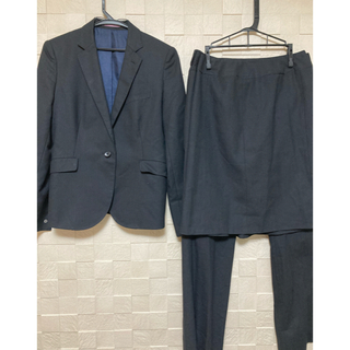 ORIHICA - オリヒカ スーツ上下スカート&ズボン3点セット