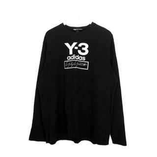 ワイスリー(Y-3)のワイスリーヨウジヤマモトY-3■ロゴストレッチカットソー(Tシャツ/カットソー(七分/長袖))