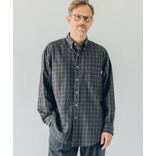 ジムフレックス(GYMPHLEX)の【Gymphlex】ビエラチェック 長袖ビッグボタンダウンシャツ ジムフレックス(シャツ)