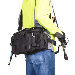 ☆多機能 アウトドア用 3WAYバッグ 釣りバッグ フィッシングバッグ(ウエア)