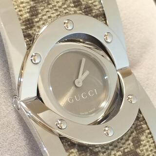 グッチ(Gucci)の7.新品同様 グッチ GUCCI 時計 112  GGキャンパス トワール(腕時計)