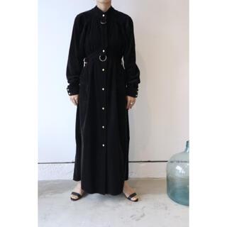 PHOTOCOPIEU BELTED MAXI DRESS ワンピース 20aw(ロングワンピース/マキシワンピース)