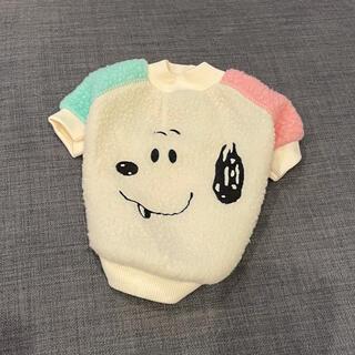 スヌーピー(SNOOPY)のスヌーピー 犬 猫 ペット服 新品未使用(ペット服/アクセサリー)
