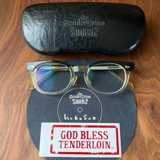 テンダーロイン(TENDERLOIN)のTENDERLOIN × 白山眼鏡店 T-JERRYS GREY 前期型(サングラス/メガネ)