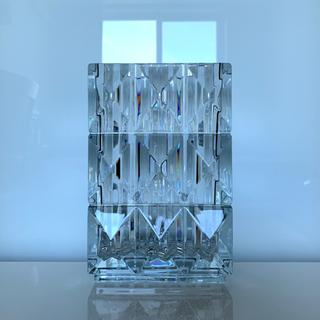 バカラ(Baccarat)の✯ 壮麗 Baccarat ルクソール ベース クリスタル 花瓶 美品 ✯(花瓶)