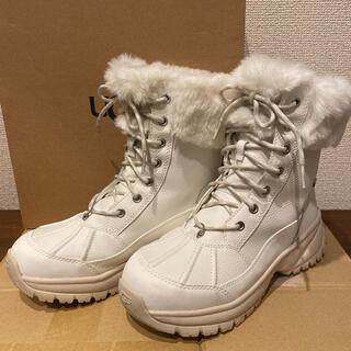 アグ(UGG)のUGG アグ YOSE FLUFF レディース ブーツ ホワイト(ブーツ)