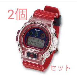 ジーショック(G-SHOCK)の2021年モデル 広島カープ G-SHOCK 2000本限定 2個セット(腕時計(デジタル))