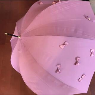 Maison de FLEUR - メゾンドフルールのピンクリボン 傘