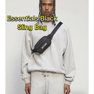 フィアオブゴッド(FEAR OF GOD)のFOG Essentials エッセンシャルズ ウエストバック ブラック(ショルダーバッグ)