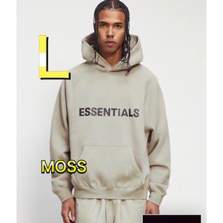 フィアオブゴッド(FEAR OF GOD)のFOG Essentials  エッセンシャルズ パーカー MOSS モス  L(パーカー)
