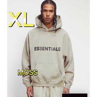 フィアオブゴッド(FEAR OF GOD)のFOG Essentials  エッセンシャルズ パーカー Mossモス  XL(パーカー)