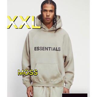 フィアオブゴッド(FEAR OF GOD)のFOG Essentials  エッセンシャルズ パーカー モス  XXL(パーカー)