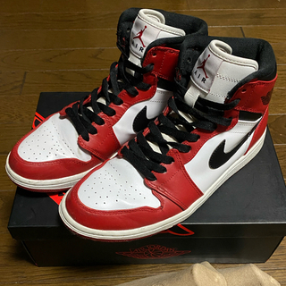 ナイキ(NIKE)のNIKE AIR JORDAN 1 RETRO HIGH  Chicago(スニーカー)