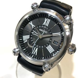 セイコー(SEIKO)のセイコー 5R66-0AB0/SBLA003 スプリングドライブGMT 腕時計(腕時計(アナログ))