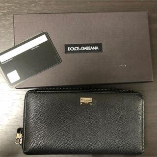 ドルチェアンドガッバーナ(DOLCE&GABBANA)のDOLCE&GABBANA 財布 中古(長財布)
