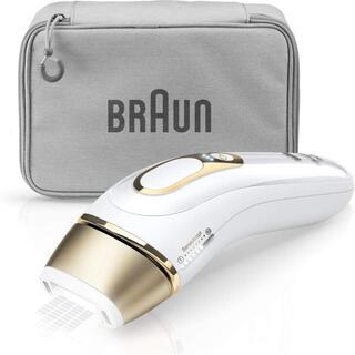 ブラウン(BRAUN)のブラウン 光美容器 シルクエキスパート ホワイト Pro5 PL-5014(ボディケア/エステ)
