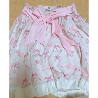 ディズニー(Disney)のマリーちゃん フリルスカート(ひざ丈スカート)