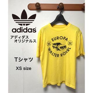 アディダス(adidas)のadidas originals アディダス Tシャツ XSサイズ(Tシャツ/カットソー(半袖/袖なし))