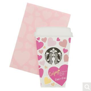 スターバックスコーヒー(Starbucks Coffee)のスターバックス ビバレッジカード 1枚(フード/ドリンク券)