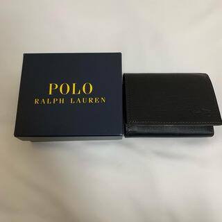 ラルフローレン(Ralph Lauren)の★新品★ラルフローレン★メンズ 三つ折り財布 ブラック(折り財布)