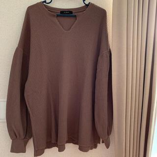 ダブルクローゼット(w closet)のダブルクローゼット トップス ロンT(Tシャツ(長袖/七分))